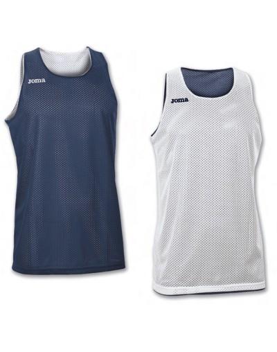 Camiseta Joma reversible Aro S/M Marino-Blanco