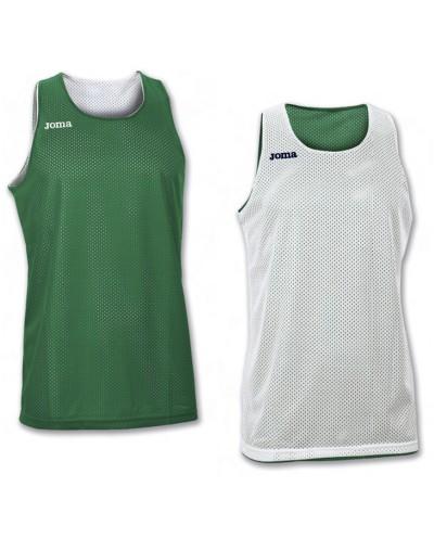 Camiseta Joma reversible Aro S/M Verde-Blanco