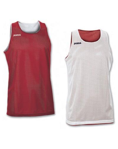 Camiseta Joma reversible Aro S/M Rojo-Blanco