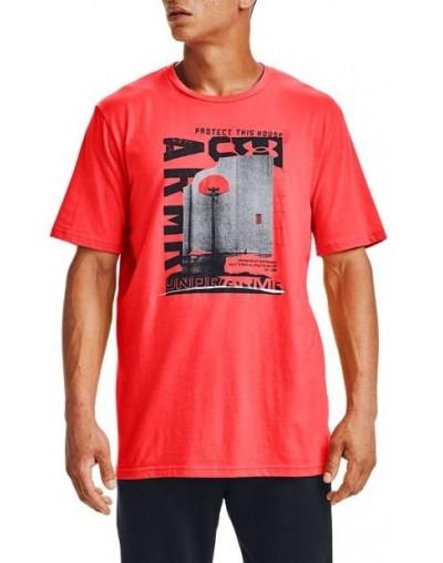 Camiseta UA Bsketball Photoreal SS