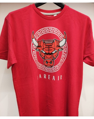 Camiseta Bull, Rojo