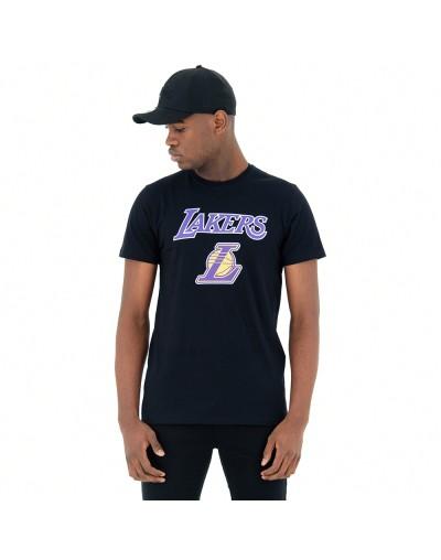 Camiseta La Lakers Team Logo, Negro