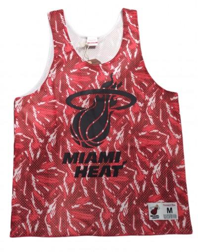 Camiseta técnica reversible NBA Miami Heat Mesh