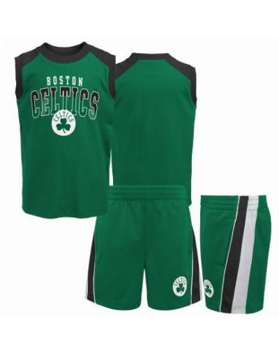 Conjunto Boston Celtics Niño Algodón