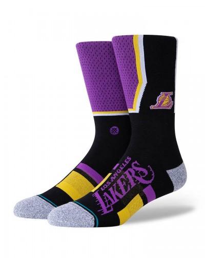 Calcetín Stance L.A Lakers Shortcut 2 Negro