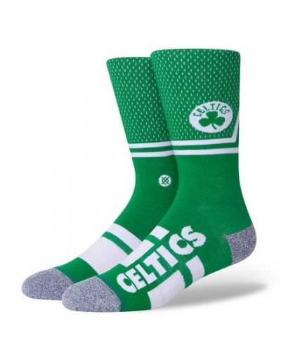 Calcetín Stance Shortcut 2 Celtics Verde