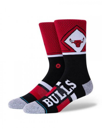 Calcetín Stance Bulls Shortcut 2 Rojo