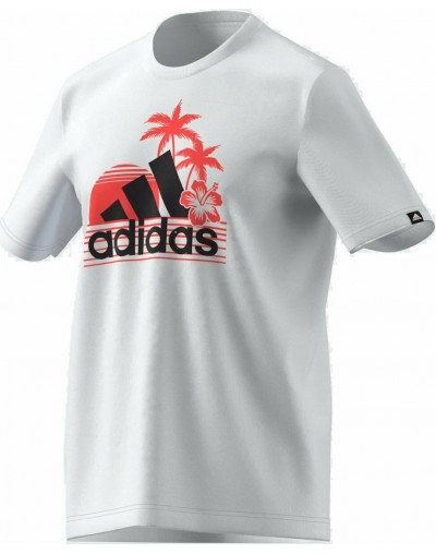 Camiseta Adidas Aeroready Vacation Sunset Logo