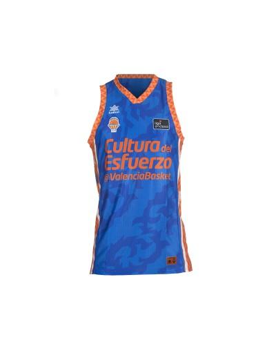 Camiseta juego masculina Valencia Basket Azul ACB 20