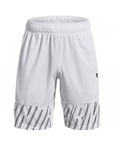 Pantalón UA Baseline 10 Short Blanco