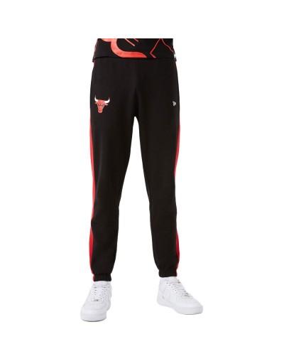 Pantalón largo NBA Team Logo Chicago Bulls Negro