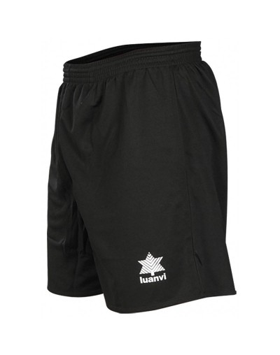 Pantalón de juego Luanvi Adulto, Negro