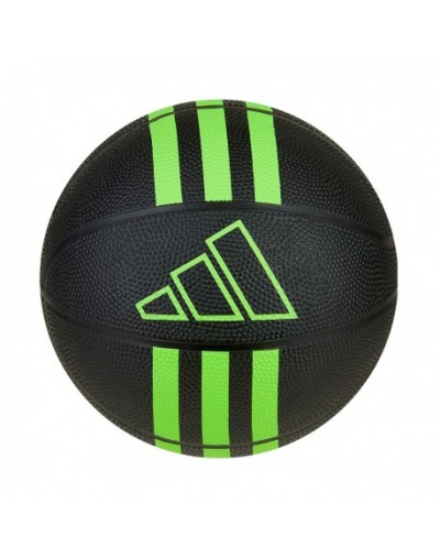 Balón 3S Rubber Mini Adidas, Negro