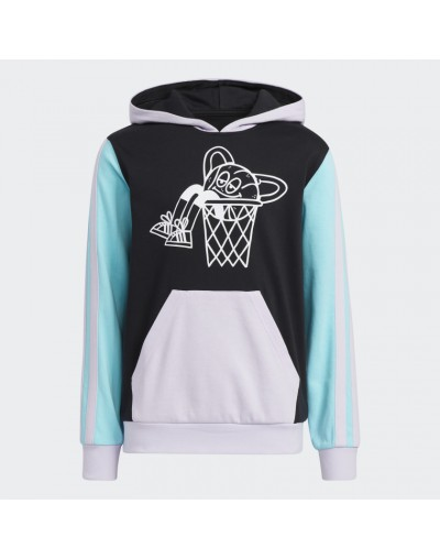 Sudadera con capucha Lil Stripe Adidas Infantil