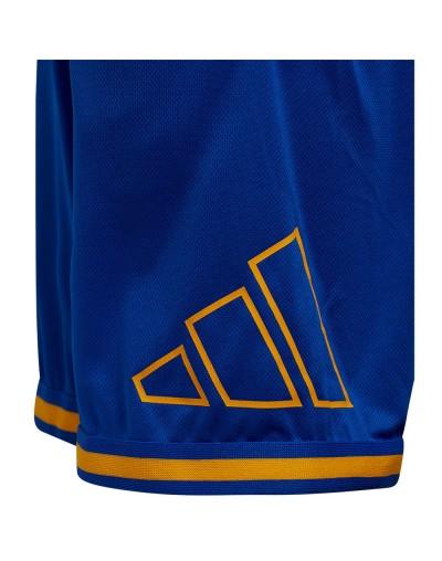 Short Y Logo BB Adidas Azul infantil