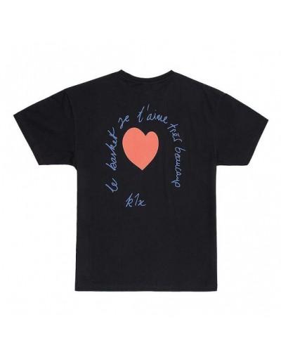 Camiseta K1X Le Basket Negro