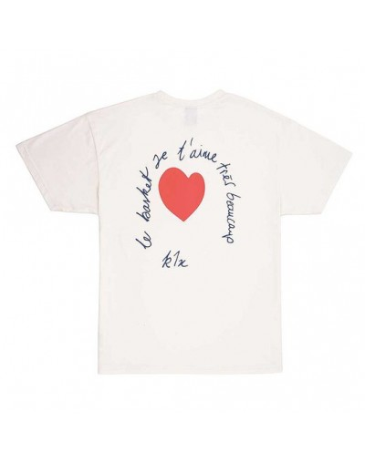 Camiseta K1X Le Basket Crudo