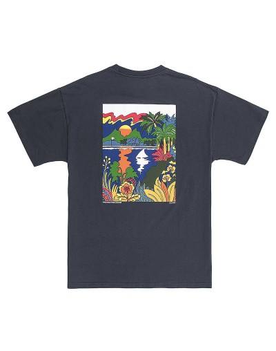 Camiseta K1X Paradise Gris