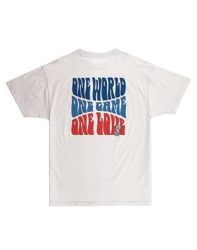 Camiseta K1X One World Crudo