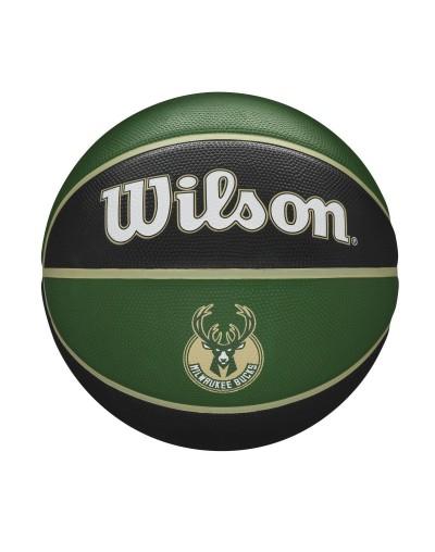 Balón Wilson NBA Team Tribute BSKT Milwaukee Bucks SZ7