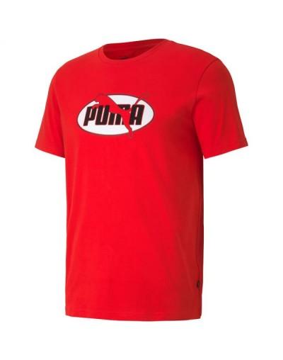 Camiseta Puma Flock, Rojo